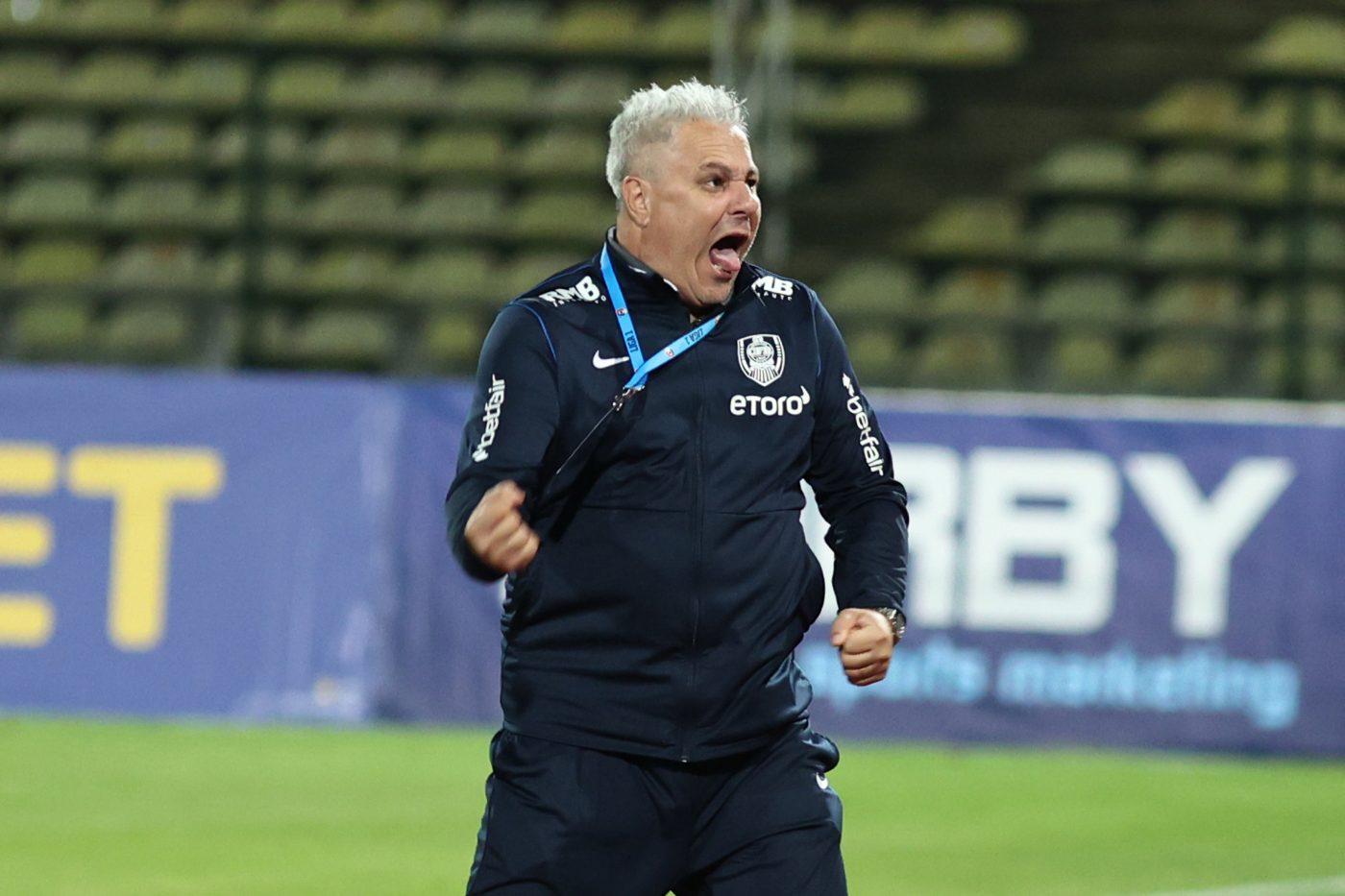 Marius Șumudică este pe primul loc în Liga 1, cu CFR