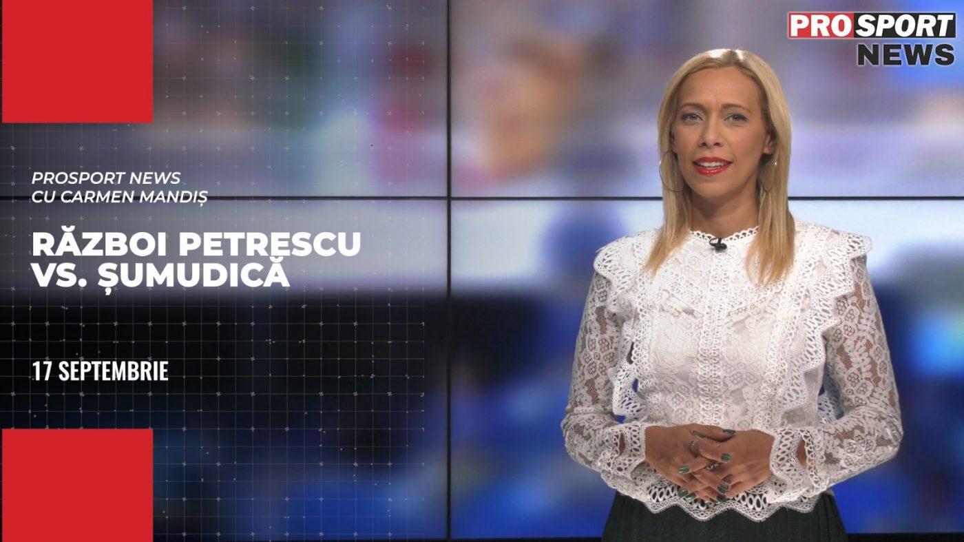 PROSPORT NEWS | Război Dan Petrescu vs. Marius Șumudică, după Jablonec – CFR Cluj. Cele mai importante știri ale zilei | VIDEO