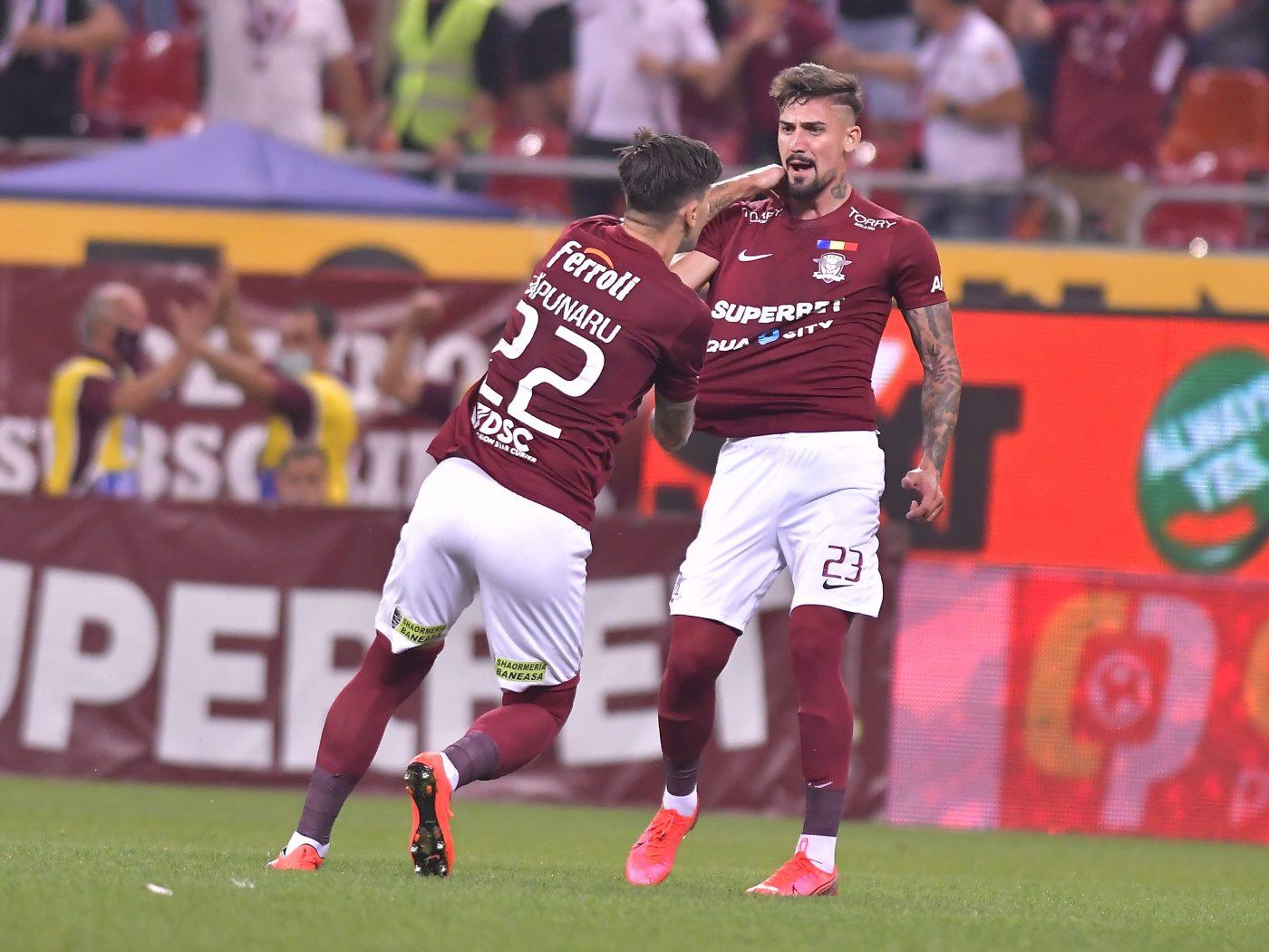 Alexandru Albu, patru goluri în ultimele trei meciuri pentru Rapid! Ar putea fi o soluție pentru echipa națională?