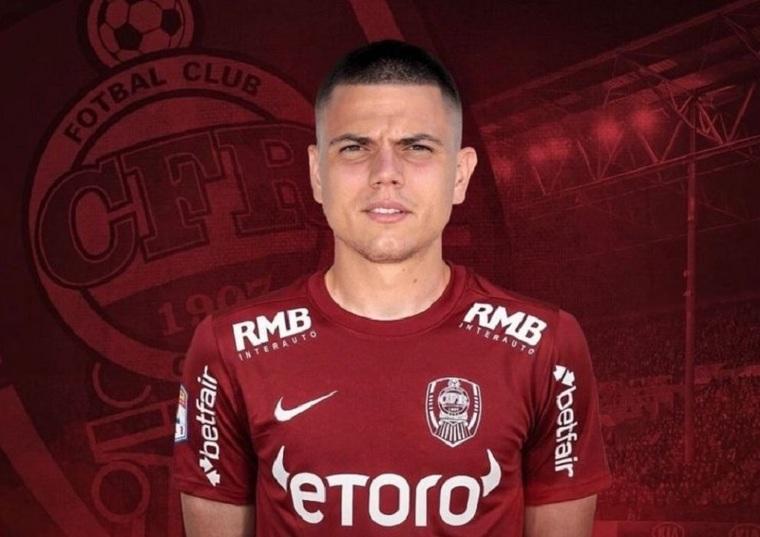 Lovitură dată de CFR Cluj! Ardelenii și-au întărit compartimentul ofensiv cu una dintre marile speranțe ale fotbalului din Serbia