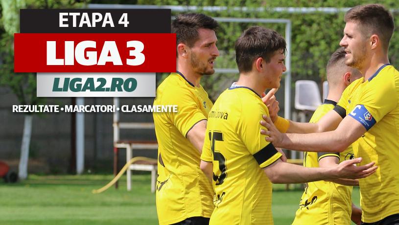 Liga 3, etapa 4, rezultate | Remiză între Dinamo 2 și Rapid 2, CS Afumați pierde surprinzător. Reșița câștigă la Deva, Slatina bate la Alexandria