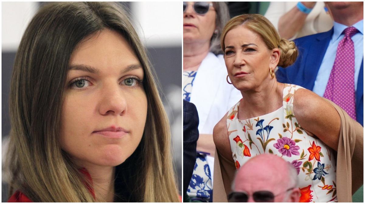 """Simona Halep, băgată în corzi! După ce Dumitru Dragomir a sfătuit-o să se retragă și să devină mamă, legendara Chris Evert vine cu același sfat: """"Știi la ce mă gândesc?"""""""
