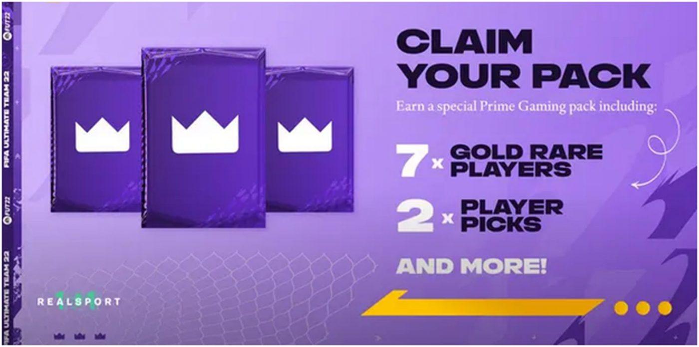 Cum poți obține Prime Gaming Pack dacă ești jucător de FIFA 22 Ultimate Team