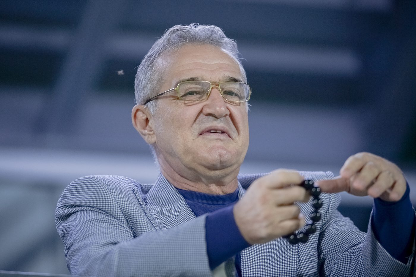 """Ce meciuri urmărește Gigi Becali la televizor! Dezinteres major al patronului de la FCSB: """"Dacă mi-e foame, cobor să mănânc"""""""