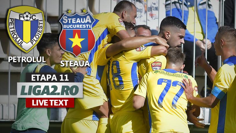 """Petrolul – Steaua se joacă ACUM. """"Dublă"""" Sory Diarra în debutul reprizei secunde"""