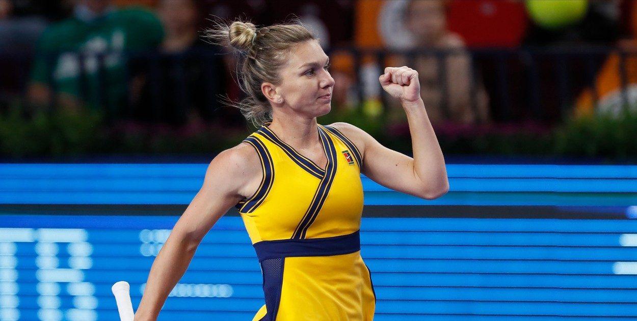 Simona Halep e în sferturi la Moscova după o victorie excelentă: 6-1, 7-6 cu Veronika Kudermetova! Video Online. Urmează un super duel pentru româncă
